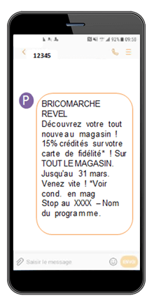 sms mms mobile geofencing campagne sms drive to store sms marketing mobile marketing sms géolocalisé
